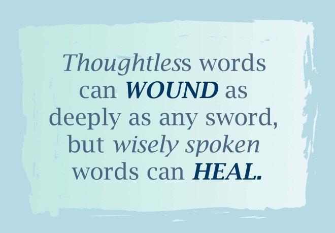 WORDS scripture copy